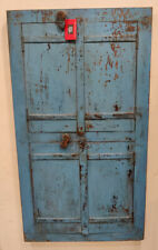 old used Vintage wooden doors window shutter reclaimed doors M5536