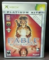 Fable The Lost Chapters -  Microsoft Xbox OG Rare Game Complete Working Tested