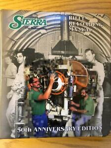1995 SIERRA BULLETS RIFLE RELOADING MANUAL 50TH ANNIVERSARY EDITION