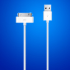 iPhone USB Cable 4 4G 4S 3GS iPod Nano Touch 4G iPhone chargers Old iphone cable