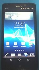 Sony Xperia TL LT30at 16GB  Black AT&T Good Condition Fully Functional