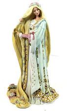 Rapunzel Legendary Princess Figurine Lenox Porcelain Blonde Long Hair