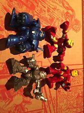 Super Hero Squad lot Iron Man Monger Hammer Drone Superhero Squad SHS Avengers