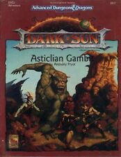 DSQ3 DARK SUN ASTICLIAN GAMBIT SEALED AD&D D&D TSR Dungeons Dragons 2412 Module
