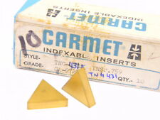 NEW SURPLUS 10PCS. CARMET  TNG  431E  GRADE: CA9721  CARBIDE INSERTS