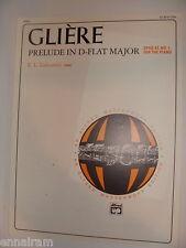 Gliere Prelude in D Flat Major Opus 43 No. 1 ed. Lancaster 1996