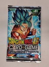 Buy/Pick 2 Dragon Ball Super Card Game Booster Packs - Galactic Battle - New