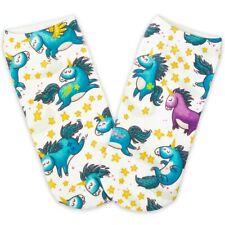Pealu - 1 Paar STAR UNICORN Sneaker Einheits-Größe 33-40 Polyester weich Socken
