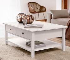 Couchtisch Beistelltisch Tisch Wohnzimmertisch KOPENHAGEN im Landhausstil Weiß