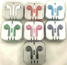 OEM Quality Headphones Earbuds With Remote and Mic for iPhone 4 4s 5 5c 5s 6 6s