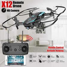 RC Drone HD Camera 720P Wide Angle Altitude Hold Follow Me FPV Quadcopter