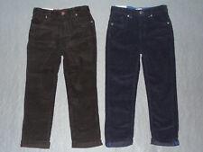 Nwt Toughskins Boy's Corduroy Pants w/ Adj Waist - U Pick Color + Size