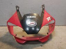 2000 00 YAMAHA YZF-R6 YZFR6 R6 front upper fairing