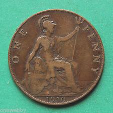 1910 Edward VII Penny SNo37325