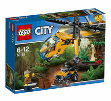 BRAND NEW LEGO CITY JUNGLE CARGO HELICOPTER TOY SET 60158 CHEAPEST BIRTHDAY GIFT