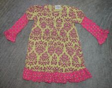 Flit & Flitter Girls Long Sleeve Dress - Size 6 - EUC