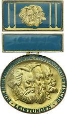 DDR b.2363 FDJ-medalla marx-engels-lenin