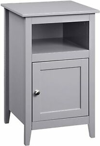 Convenience Concepts Storage Cabinet End Table New