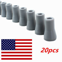 20pc Dental Replacement Rubber Valve Snap Tip SE Saliva Ejector Adapter Weak CE