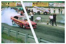 "1970s Drag Racing-""Las Vega"" vs :US MALE""-Funny Cars-Maple Grove Dragway"