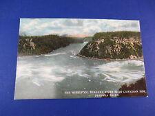 Niagara River Canadian Side Niagara Falls Vintage Colorful Postcard Unused Pc15