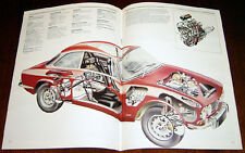 Alfa Romeo Giulietta & GTV - technical cutaway drawing