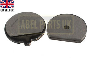 JCB PARTS - HAND BRAKE PADS(ROUND) FOR JCB MODEL(PART NO.15/920103 OR 478/00849)