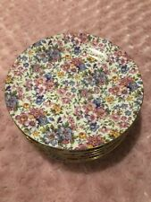 Chintz Style Royal Cotswolds China By B. Godinger 8 Salad Plates