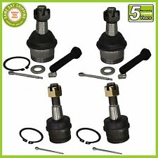 Ford Explorer Ranger Bronco II 4WD 4X4 4 Pc Kit Front Upper & Lower Ball Joint