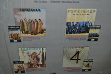 """Foreigner RARE 12"""" Vinyl 3 Song URGENT HEAD GAMES HOT BLOODED w/SHRINK"""