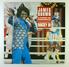 "12"" Maxi - James Brown - Living In America - B3871 - washed & cleaned"