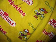 TWINKIE THE KID PAJAMA PANTS Hostess Cowboy Lounge Sleep Wear Adult XL SHORT