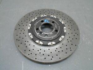 2020 17 18 19 20 McLaren 720S 720 Brembo Left Rear Carbon Ceramic Rotor #3915 A5