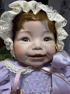 "Vintage Dianna Effner # 637FA Baby Doll 17"" BABY DEAR collection Ashton-Drake"