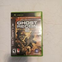Tom Clancy's Ghost Recon 2 Xbox 2011 Final Assault Complete with Case and Manual