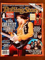 ROLLING STONE Mar 04 - Jimi Hendrix Missy Elliot Greatest Guitarists of All Time
