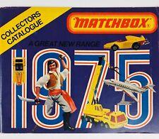 Matchbox 1975 USA Edition Catalog Collector's Catalogue