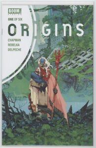 ORIGINS #1-6 COMPLETE SET - BOOM! STUDIOS  VF/NM-NM