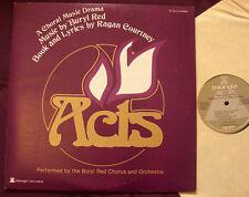 BURYL RED CHORUS ORCHESTRA & RAGAN COURTNEY - Acts ORIG 2LP NM