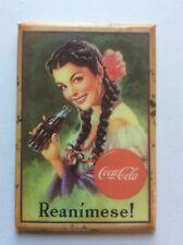 Coca-Cola Square hand mirror pocket/purse/compact lady holding COKE ᵛ Reanimese