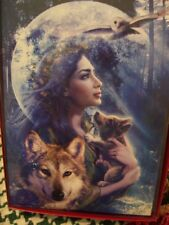 Leanin Tree Christmas Card Set Beautiful Wolf Scene 10Pk