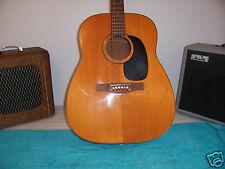 No Name Airline Harmony Sovereign style acoustic guitar maybe asian built  As Is