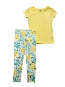 NEW Carter's Girls 2 Piece Top with Leggings Set Yellow,	4-5, 6/6x, 7, 8, 4