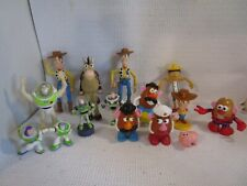 Disney Pixar TOY STORY Lot of 14 Figures Buzz Woody Hamm Bullseye Potato Head