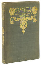Paul Lawrence Dunbar / Lyrics of the Hearthside / 1st Edition 1899 Literature