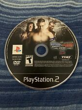 WWE SmackDown vs. Raw 2010 (Sony PlayStation 2, 2009) PS2 Disc Only Tested!