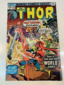 The Mighty Thor #244 ~ VF/NM ~ 1976 Jane Foster
