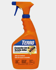 New!! Terro Carpenter ANT & TERMITE Killer In/Out Up To 4 Months 32 oz. T1100-6