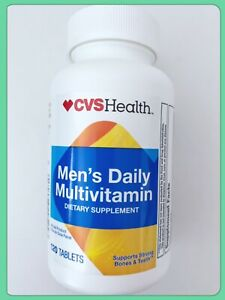 NEW CVS Men's Daily Multi Vitamin for Him With Iron 120 Tablets Exp 03/2023