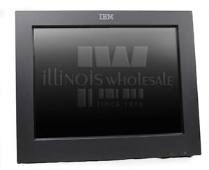 """IBM SurePoint 15"""" Touch Screen Monitor, 4820-5GN"""